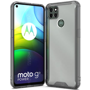 Motorola Moto G9 Power Clear Case Hard Slim Protective Phone Cover - Pure View Series