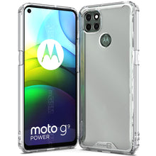Load image into Gallery viewer, Motorola Moto G9 Power Clear Case Hard Slim Protective Phone Cover - Pure View Series