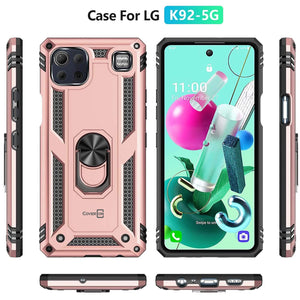 LG K92 5G Case with Metal Ring - Resistor Series