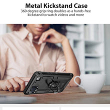 Load image into Gallery viewer, LG K92 5G Case with Metal Ring - Resistor Series
