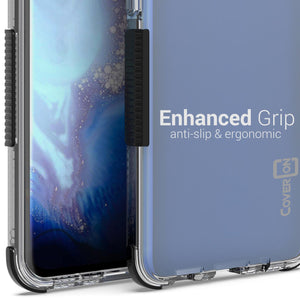Samsung Galaxy S20 Clear Case - Protective TPU Rubber Phone Cover - Collider Series