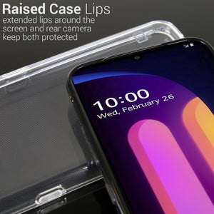 LG V60 ThinQ 5G Case - Slim TPU Rubber Phone Cover - FlexGuard Series
