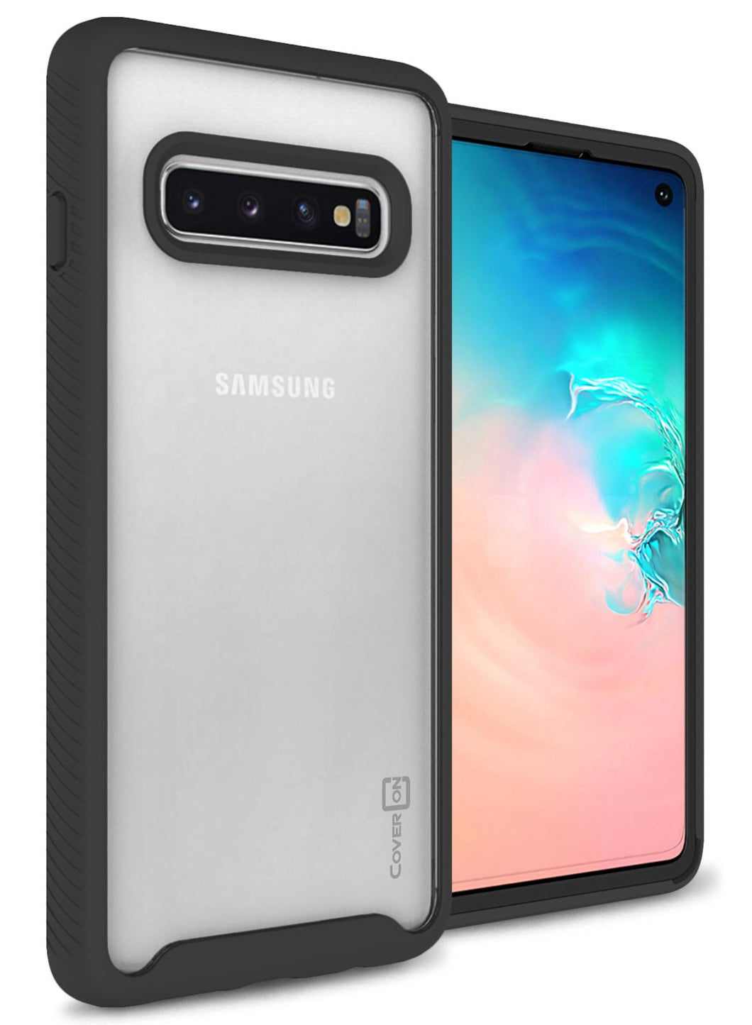 Samsung Galaxy S10 Case - Heavy Duty Shockproof Clear Phone Cover - EOS Series