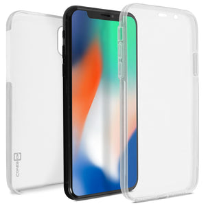 iPhone XS / iPhone X Full Body Case with Screen Protector - SlimGuard Series