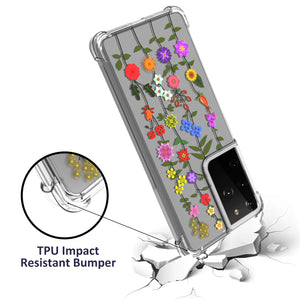 Samsung Galaxy S21 Ultra Case - Slim TPU Silicone Phone Cover - FlexGuard Series