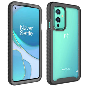 OnePlus 9 Case - Heavy Duty Shockproof Clear Phone Cover - EOS Series