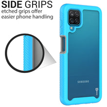 Load image into Gallery viewer, Samsung Galaxy A12 Case - Heavy Duty Shockproof Clear Phone Cover - EOS Series