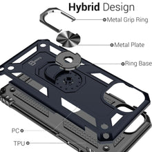 Load image into Gallery viewer, iPhone 11 Pro Case with Metal Ring Kickstand - Resistor Series