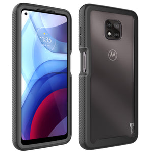 Motorola Moto G Power 2021 Case - Heavy Duty Shockproof Clear Phone Cover - EOS Series