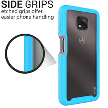 Load image into Gallery viewer, Motorola Moto G Power 2021 Case - Heavy Duty Shockproof Clear Phone Cover - EOS Series