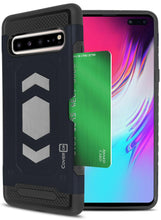 Load image into Gallery viewer, Samsung Galaxy S10 5G Card Case with Metal Plate - Metal Series