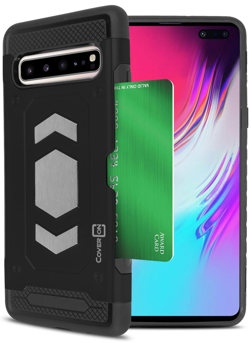Samsung Galaxy S10 5G Card Case with Metal Plate - Metal Series