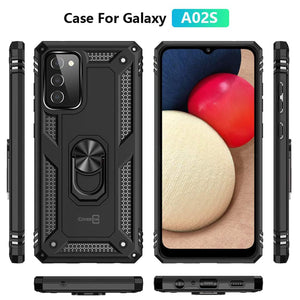 Samsung Galaxy A02s Case with Metal Ring - Resistor Series