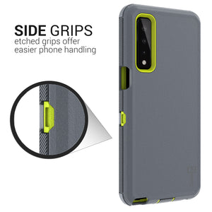LG Stylo 7 5G Case - Heavy Duty Shockproof Case