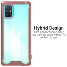 Load image into Gallery viewer, Samsung Galaxy A71 Clear Case Hard Slim Protective Phone Cover - Pure View Series