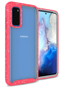 Samsung Galaxy S20 Case - Heavy Duty Shockproof Clear Phone Cover - EOS Series