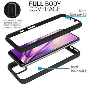 Google Pixel 4 XL Case - Heavy Duty Shockproof Clear Phone Cover - EOS Series