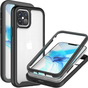 Apple iPhone 12 Pro Max Case - Heavy Duty Shockproof Clear Phone Cover - EOS Series