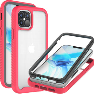 Apple iPhone 12 / iPhone 12 Pro Case - Heavy Duty Shockproof Clear Phone Cover - EOS Series