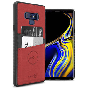 Samsung Galaxy Note 9 Card Case - Credit Card Holder and Magnetic Car Mount Compatbile Phone Cover - EDC Series