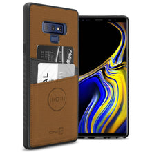 Load image into Gallery viewer, Samsung Galaxy Note 9 Card Case - Credit Card Holder and Magnetic Car Mount Compatbile Phone Cover - EDC Series