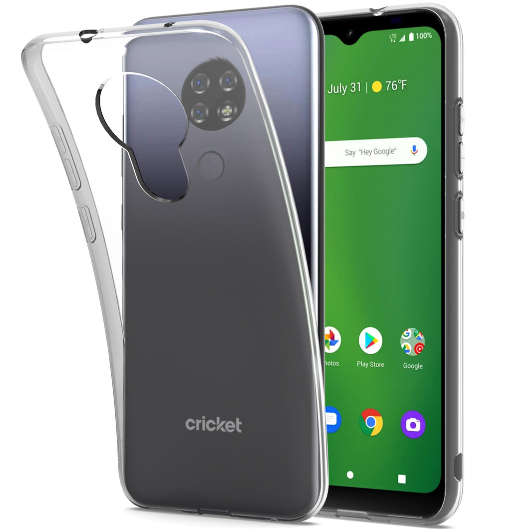 Cricket Ovation / AT&T Radiant Max Case - Slim TPU Silicone Phone Cover - FlexGuard Series
