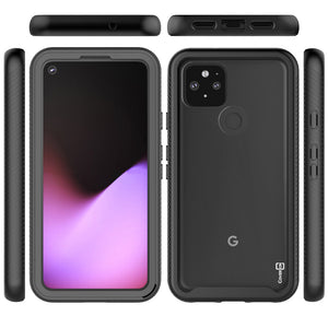 Google Pixel 4a 5G Case - Heavy Duty Shockproof Clear Phone Cover - EOS Series