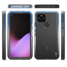Load image into Gallery viewer, Google Pixel 4a 5G Clear Case Full Body Colorful Phone Cover - Gradient Series