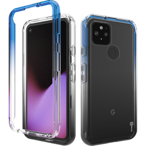 Google Pixel 4a 5G Clear Case Full Body Colorful Phone Cover - Gradient Series
