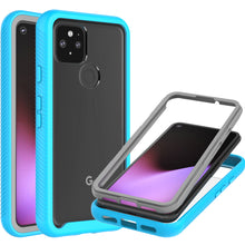 Load image into Gallery viewer, Google Pixel 5 Case - Heavy Duty Shockproof Clear Phone Cover - EOS Series