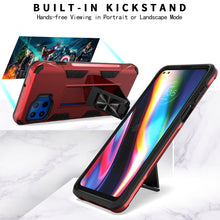 Load image into Gallery viewer, Motorola Moto One 5G / Moto G 5G+ Plus Case with Magnetic Kickstand Ring