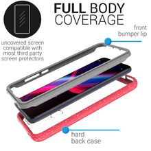 Load image into Gallery viewer, TCL T-Mobile Revvl 4 Case - Heavy Duty Shockproof Clear Phone Cover - EOS Series