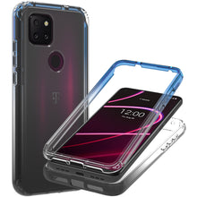 Load image into Gallery viewer, TCL T-Mobile Revvl 5G Clear Case Full Body Colorful Phone Cover - Gradient Series