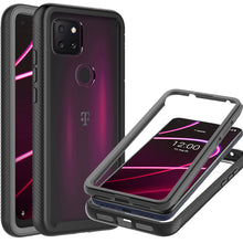 Load image into Gallery viewer, TCL T-Mobile Revvl 5G Case - Heavy Duty Shockproof Clear Phone Cover - EOS Series