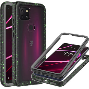 TCL T-Mobile Revvl 5G Case - Heavy Duty Shockproof Clear Phone Cover - EOS Series