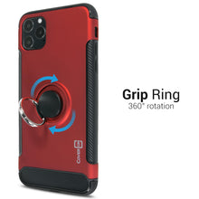 Load image into Gallery viewer, iPhone 11 Pro Max Ring Case - Magnetic Car Mount Compatible - Magna Series