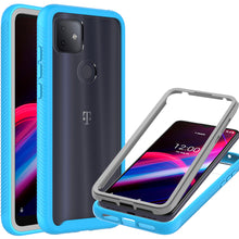 Load image into Gallery viewer, TCL T-Mobile Revvl 4 Plus Case - Heavy Duty Shockproof Clear Phone Cover - EOS Series