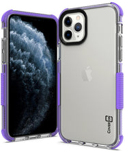 Load image into Gallery viewer, iPhone 11 Pro Max Clear Case - Protective TPU Rubber Phone Cover - Collider Series