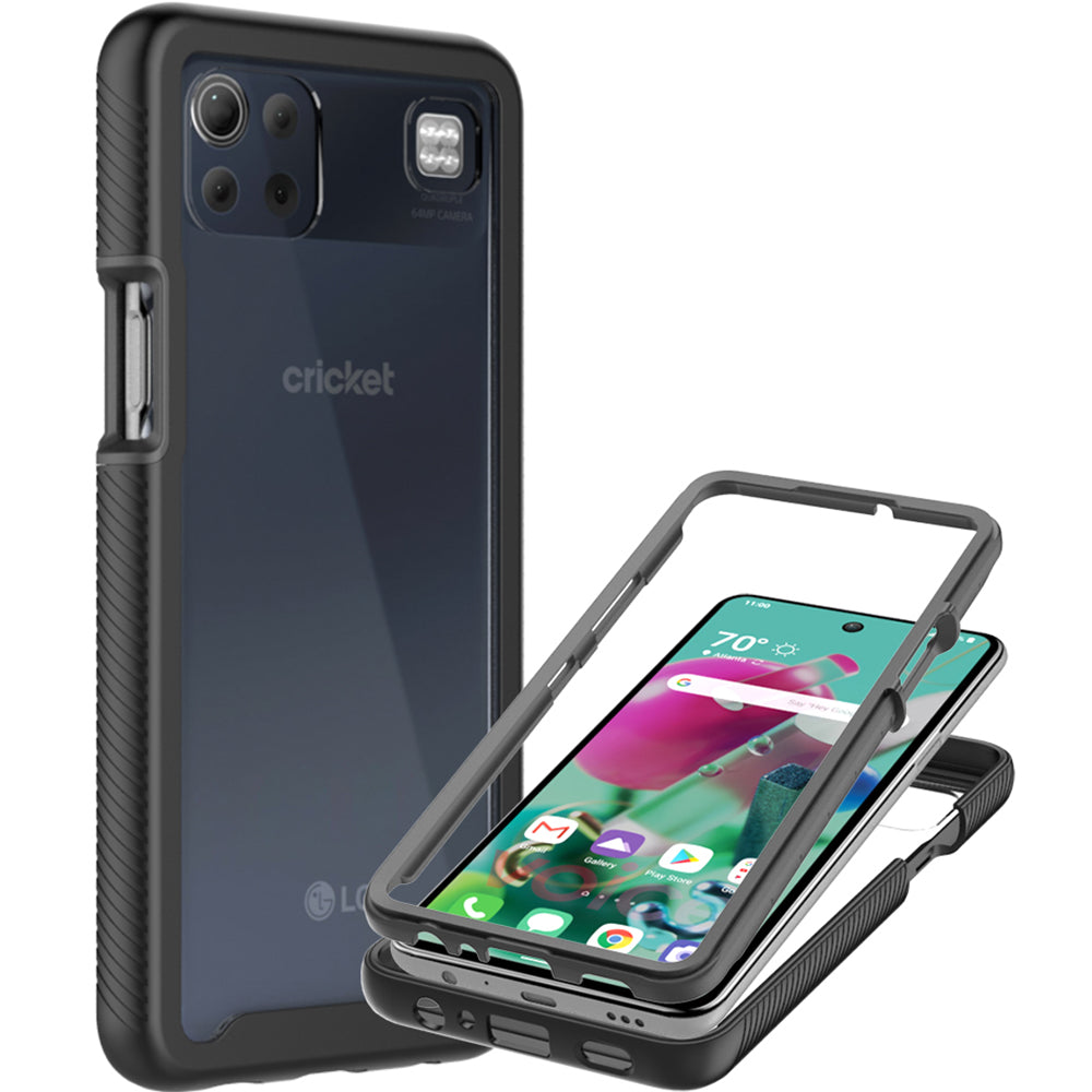 LG K92 5G Case - Heavy Duty Shockproof Clear Phone Cover - EOS Series