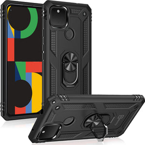 Google Pixel 4a 5G Case with Metal Ring - Resistor Series
