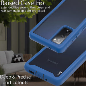 Samsung Galaxy S20 FE / Galaxy S20 FE 5G / Galaxy S20 Fan Edition / Galaxy S20 Lite Case - Heavy Duty Shockproof Clear Phone Cover - EOS Series