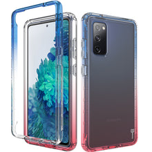 Load image into Gallery viewer, Samsung Galaxy S20 FE / Galaxy S20 FE 5G / Galaxy S20 Fan Edition / Galaxy S20 Lite Clear Case Full Body Colorful Phone Cover - Gradient Series