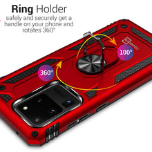 Load image into Gallery viewer, Samsung Galaxy S20 Ultra Case with Metal Ring - Resistor Series