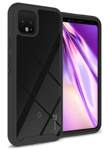 Google Pixel 4 Case - Heavy Duty Shockproof Clear Phone Cover - EOS Series