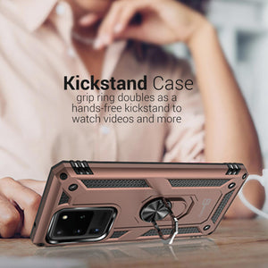Samsung Galaxy S20 Ultra Case with Metal Ring - Resistor Series