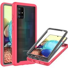 Load image into Gallery viewer, Samsung Galaxy A71 5G UW Case - Heavy Duty Shockproof Clear Phone Cover - EOS Series