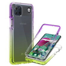 Load image into Gallery viewer, LG K92 5G Clear Case Full Body Colorful Phone Cover - Gradient Series