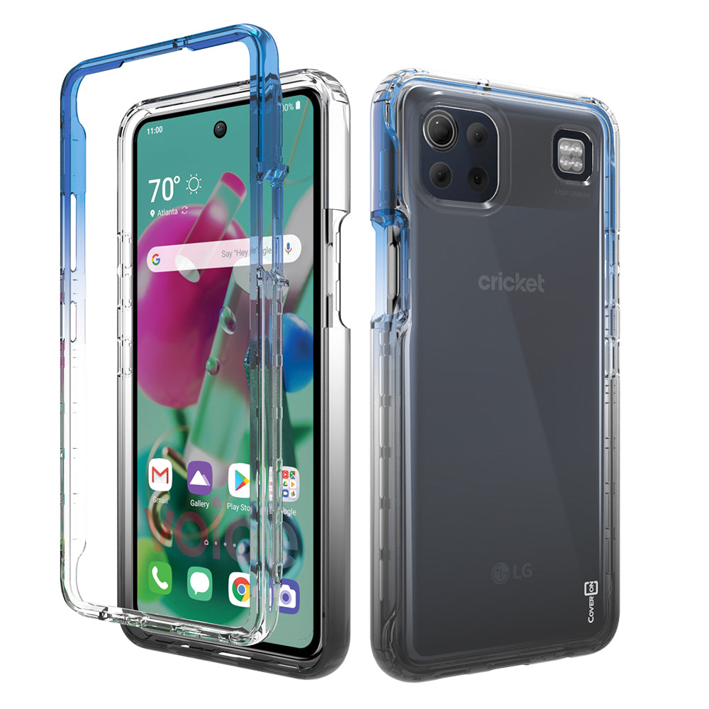 LG K92 5G Clear Case Full Body Colorful Phone Cover - Gradient Series