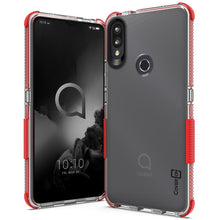Load image into Gallery viewer, Alcatel 3V 2019 Clear Case - Protective TPU Rubber Phone Cover - Collider Series