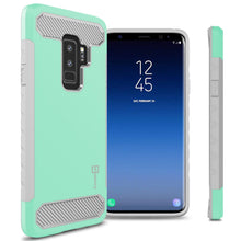 Load image into Gallery viewer, Samsung Galaxy S9 Plus Case - Hybrid Phone Cover with Carbon Fiber Accents - Arc Series